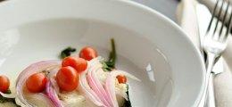 Cena ligera: pescado en papillote con verduritas